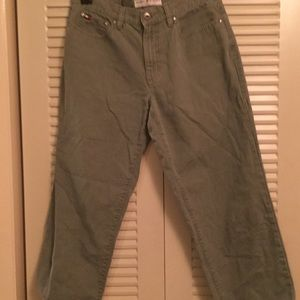 Tommy Hilfiger Jeans - Retro awesome Tommy Hilfiger Light Olive Jeans 6